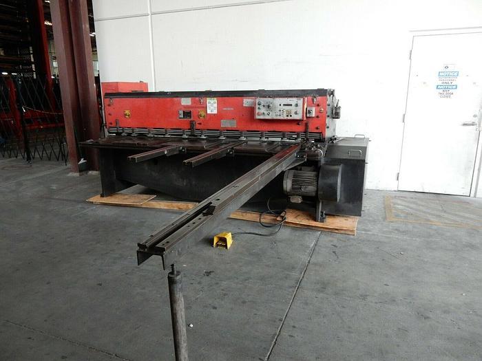 "Used Amada Model M-2560 Mechanical Power Squaring Shear 1/4"" x 8' #5727"