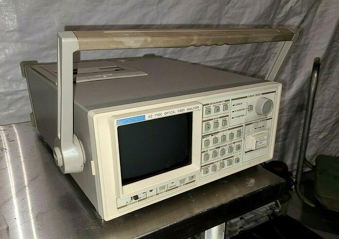 Used Ando Electric AQ-7110C Optical Fiber Analyzer Fiber Optics