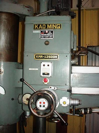 "4' x 13"" SUPERMAX KAO MING KMR-1250, 5MT Spindle, 24""x36"" Box Table. 1984"