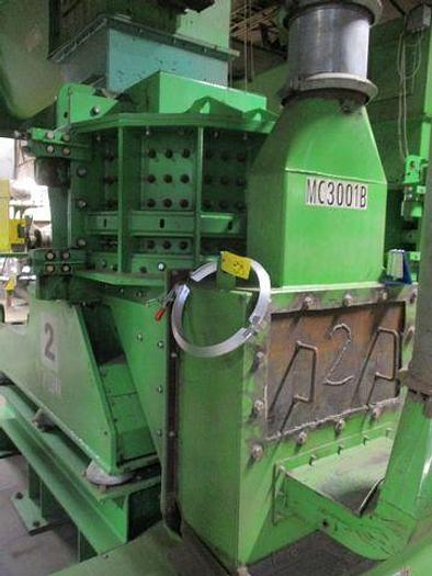 Used 2018 ENGINEERED RECYCLING SYSTEMS (ERS) HAMMER MILL VM-800 RECYCLING SYSTEM