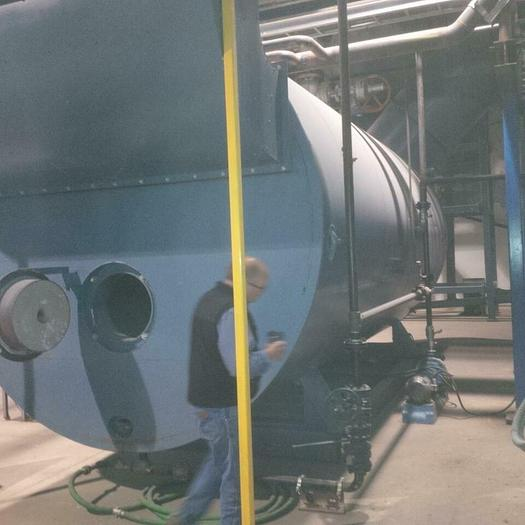 2 x Cleaver Brooks Steam Boilers 4000 ft2, APRH, NO BURNERS!! APRH-4000SF-X150
