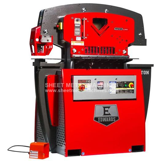 EDWARDS 110 Ton Elite Ironworker ELT110