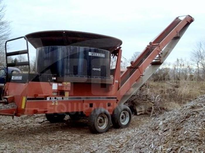 Used 1996 Farmhand CG 7000 Tub Grinder
