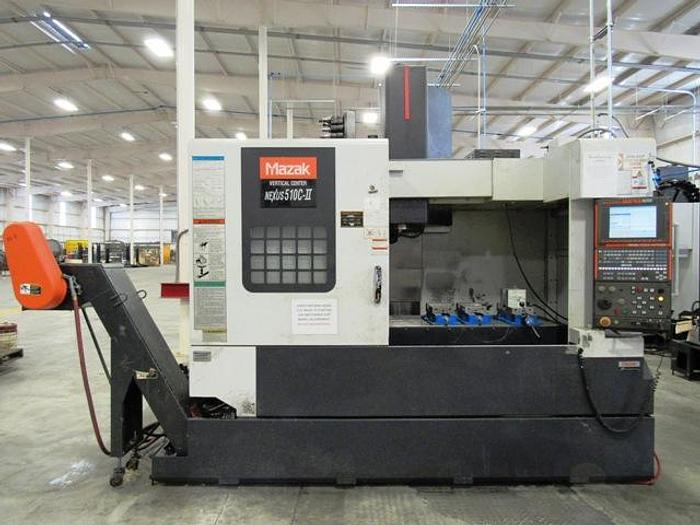 Used 2007 Mazak Nexus 510C-II CNC Vertical Machining Center