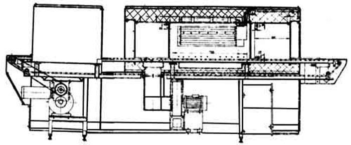 Używane Tunel grzewczy LC-021
