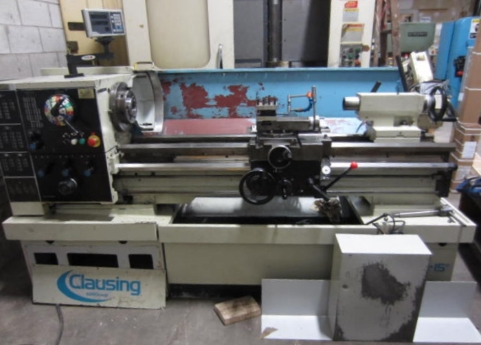 """15"""" x 50"""" Clausing Colchester Engine Lathe 5609"""