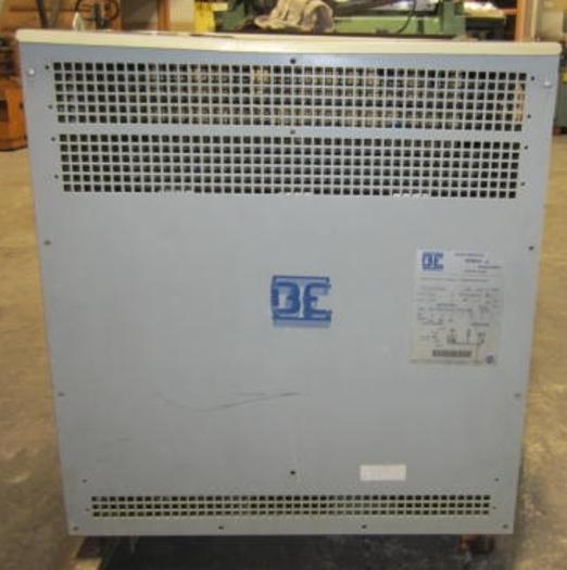 Bemag 300KVA, 600/480 Auto Transformer Cat #BC2300S480 5483