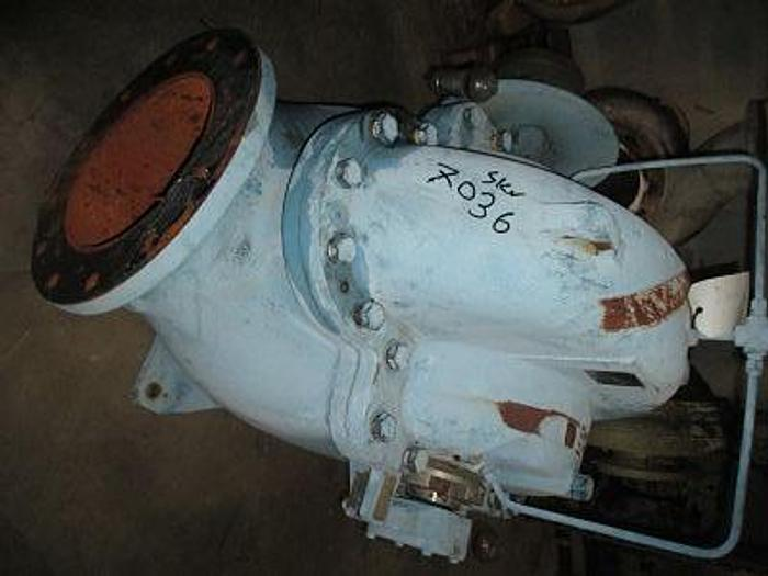 """Used GOULDS MDL 3410   12""""  X 14"""" X 15""""   DI/SS 3875GPM"""