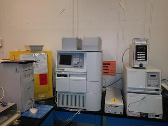 Used WATERS  2695 GPC - Gel Permeation Chromatography,