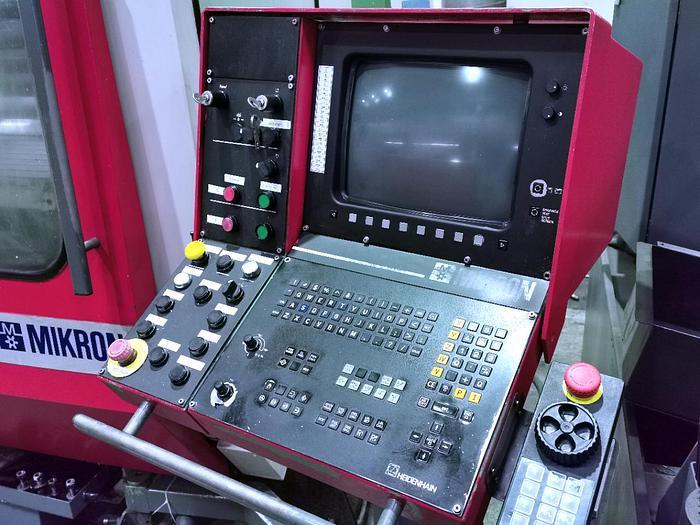 CNC Fräsmaschine MIKRON WF 71 D