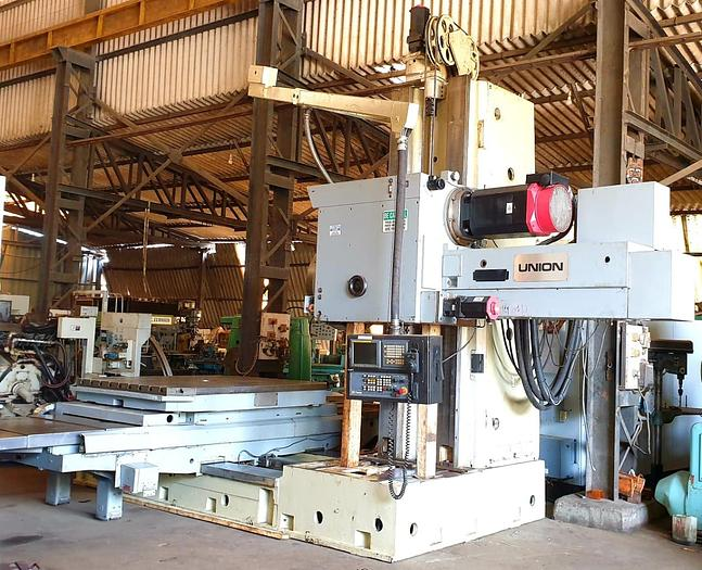 WMW BFT 130/7 CNC Horizontal Boring Machine