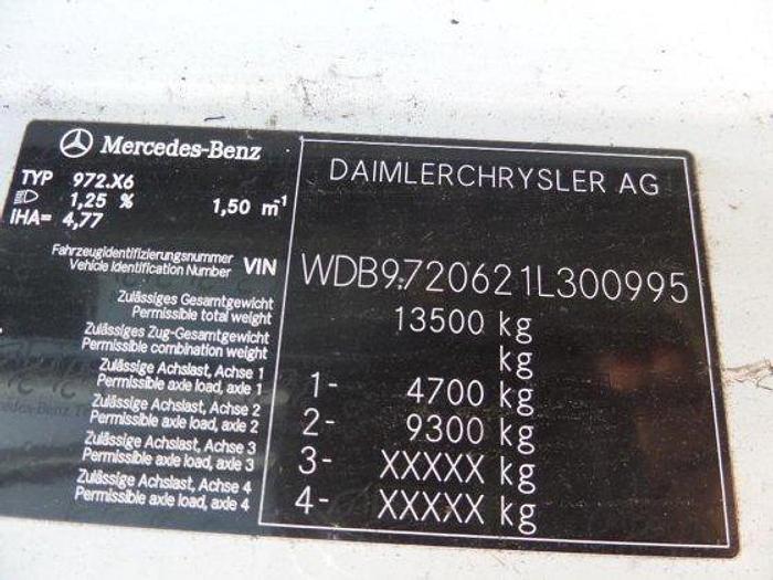 2007 MERCEDES-BENZ ATEGO 1318