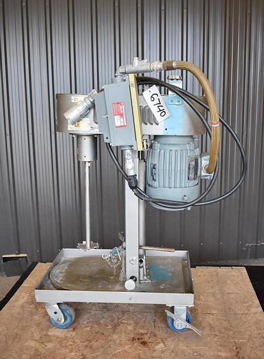 Used USED BIG H LABORATORY DISPERSER/DISSOLVER, STAINLESS STEEL, 2 HP