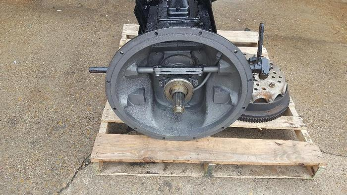 Used COTTA 4 SPD. TRANSMISSION MOD# TACU-100-17 #1 BELL HOUSING 71 SERIES DETROIT FLYWHEEL AND CLUTCH.  CHELSEA PTO #410XUABX-W3XD