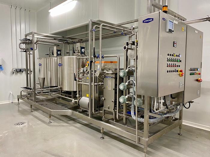 MIX 300 PASTEURISATION PLANT