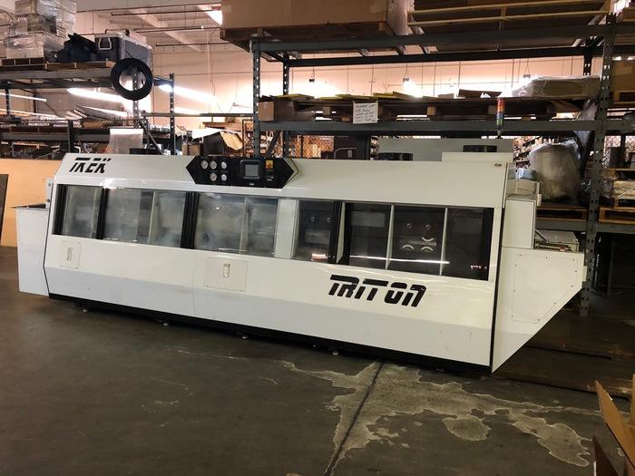 Trek Triton IV SMT inline PCB cleaner