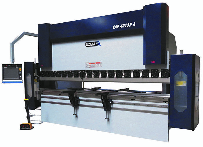 UZMA A Series CNC press brakes advanced model our highest specification machine multi-axis with all options