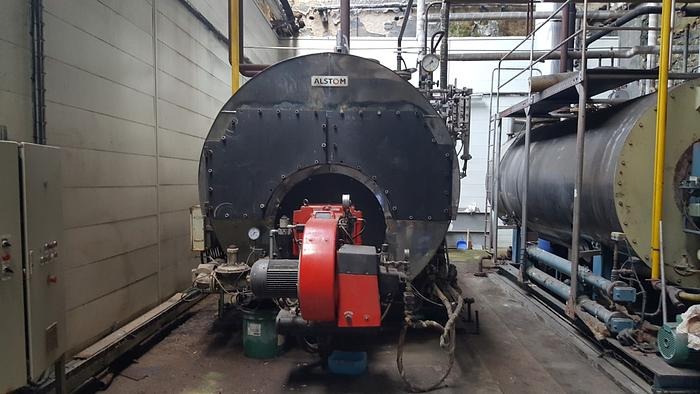 Steam Boiler ALSTHOM  5.000 Kgs/h  1998