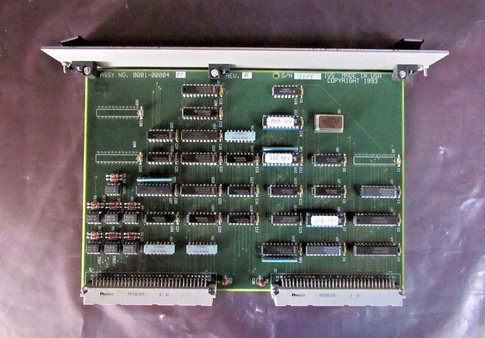 Used IVS 0001-00004-01 REV. B PC Board / Card from IVS 220 CD SEM PC (3588)
