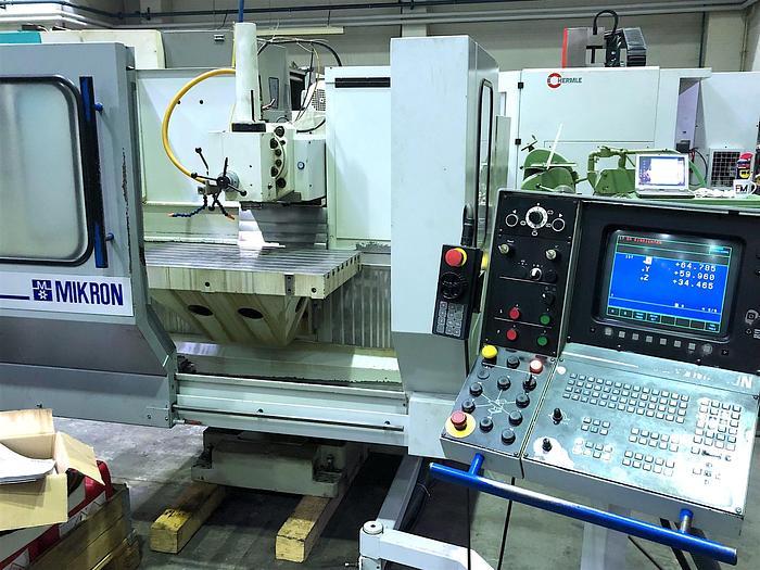 1992 Werkzeugfräsmaschine - Universal MIKRON WF 31 D