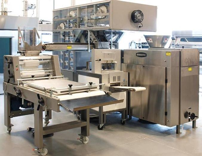 ADAMATIC COMBINATION BREAD AND ROLL MAKEUP LINE1, 2 OR 3 POCKET