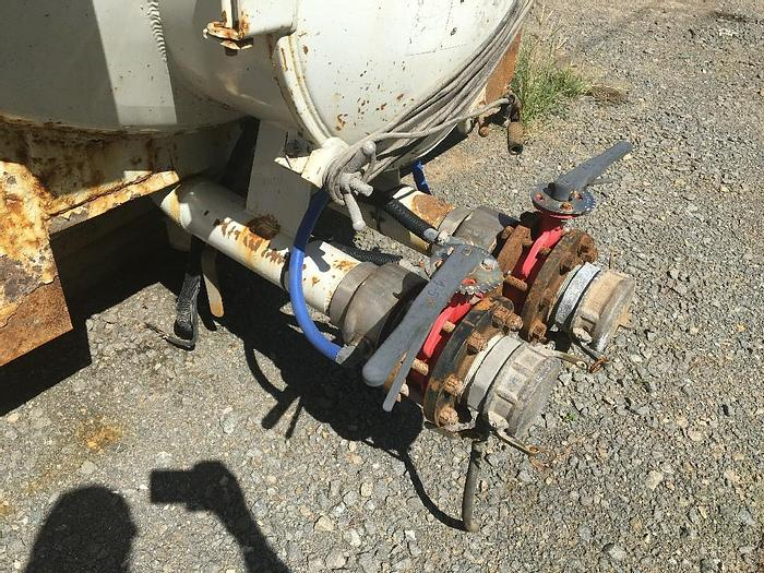 VACUUM TANK 110 BBL. HTE 2012 YR. VACUUM TANK OR 4,620 GALLON, GREAT CONDITION!