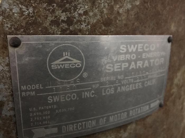 SWECO SEPARATOR - SHAKER