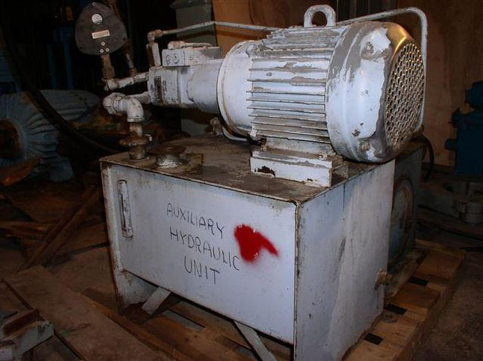 Used 7.5 HP Oilgear Hydraulic System; 4,000 psi; 6.0 gpm; PVQ
