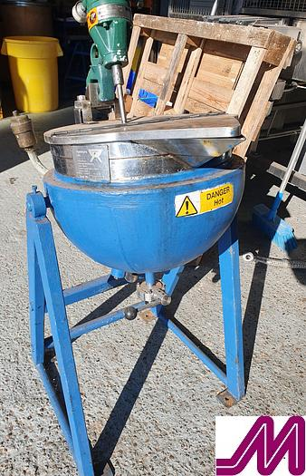 Used 1990 30 Litre Jacketed / Tilting Mixing Pan