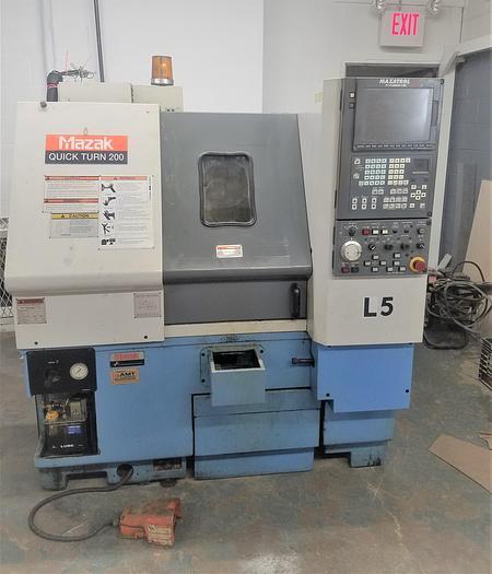 Used 1999 Mazak QT200