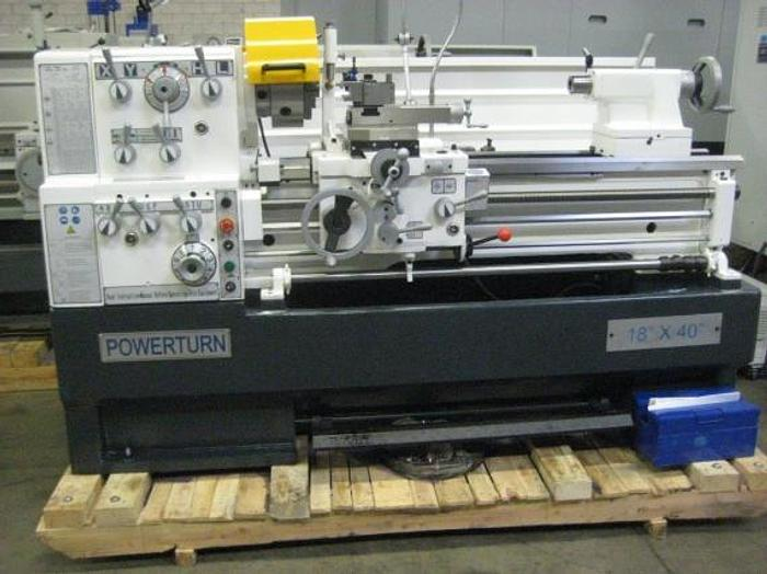 "18"" x 40"" ""NEW""  POWERTURN  PRECISION LATHE"