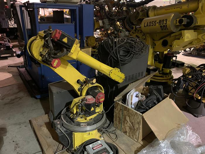 Used FANUC ARCMATE 120iB/10L 6 AXIS ROBOT 10 KG X 1885 mm HIGH REACH