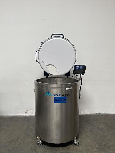 Used MVE XLC 1211 Liquid Nitrogen Storage Tank LN2