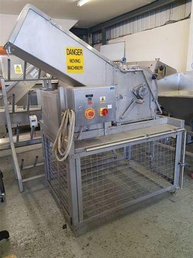 Used Fluidor Stainless Steel Frozen Block Chopper