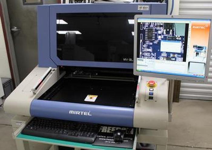 Used Mirtec  MV-3L 2010 5MP 5 camera AOI Automated Inspection