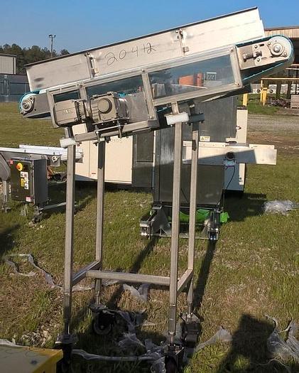 "Used Incline Conveyor; 36""Wx5'L"