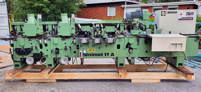 Used 1990 WEINIG Unimat 17 AS / 020 moulder / planer