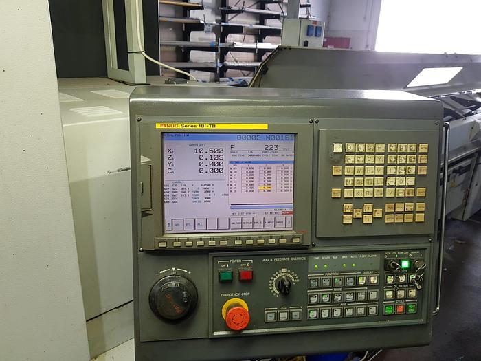 2010 NEXTURN SA26X Swiss Type Automatic Screw Machine with Fanuc 18iTB