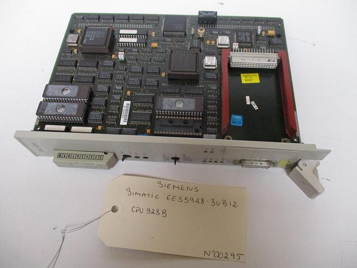 Used Siemens SIMATIC CPU