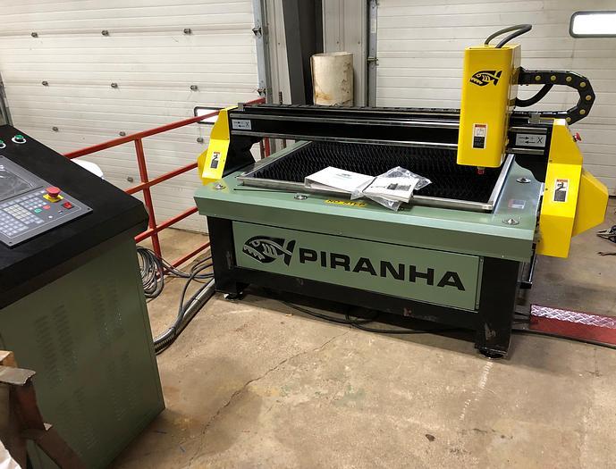 Used DEMO Piranha C-Series Plasma Cutting Table C404