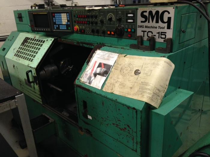 Used 1993 WINTEC SMG TC-15 2 AXIS CNC LATHE