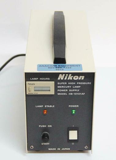 Used Nikon HB-10101AF Super High Pressure Mercury Lamp Power Supply PARTS (6919)