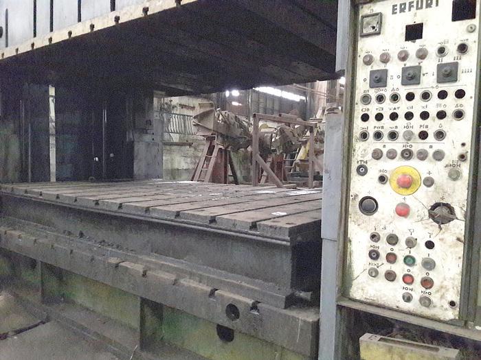 1980 Sheet Stamping press 800TON made in Romania after license ERFURT PKZV 800 ERFURT