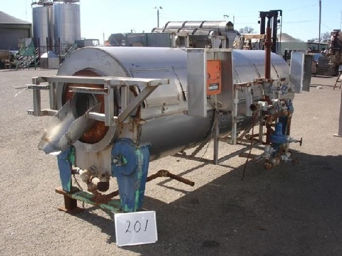 Used Hot Water Rotary Blancher