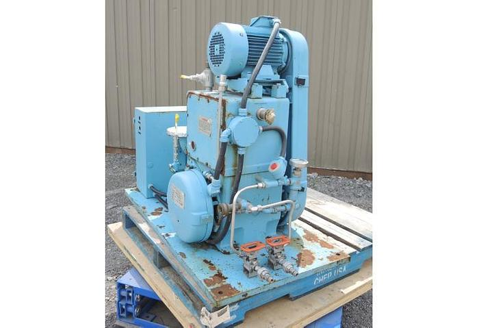 """USED VACUUM PUMP, 2"""" X 1.5"""" INLET & OUTLET, STOKES, 80 CFM"""