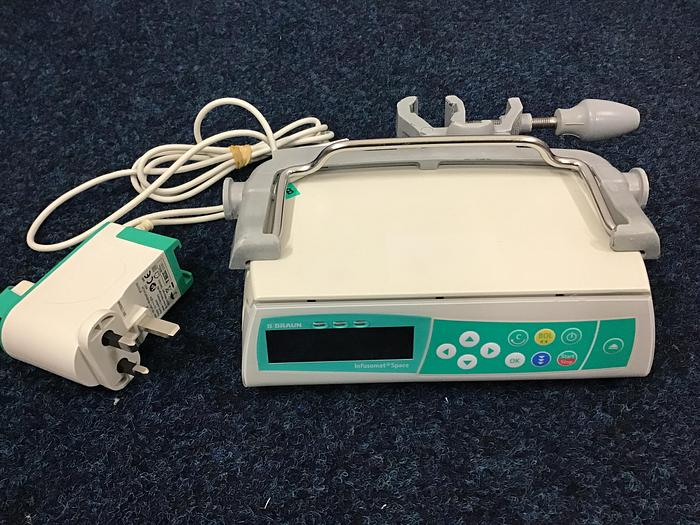 B Braun Infusomat infusion Pump with clamp  Space