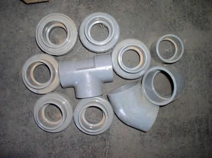 Used 1 Lot of Cemtro/Nibco PVC Fittings