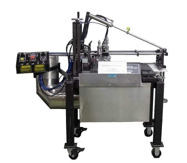 Used Systematic Automation 810-20 Semi-Automatic Screen Printer & Manual USED (7517)R