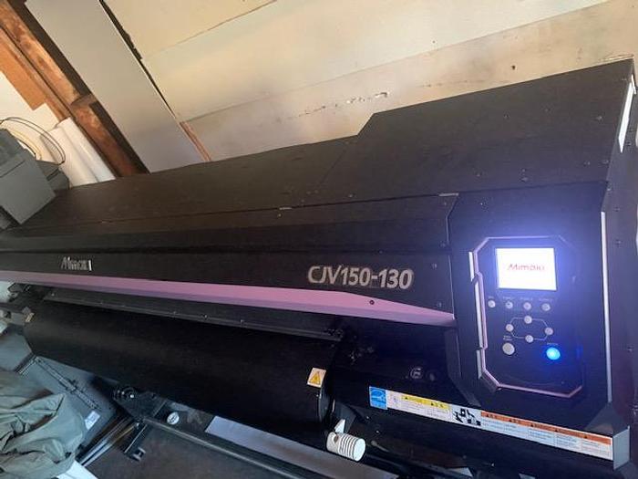 Used 2017 Mimaki CJV 150-130