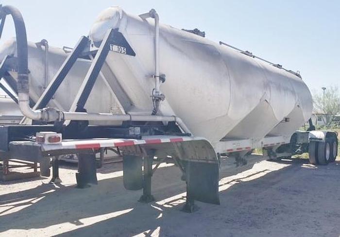 Used 1991 J&L Tank Cement Tanker Trailer (4)